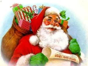 Babbo Natale con i doni